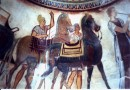 Thracian warrior with horses. Kazanlak Thracian tumulus ©  Pandion Wild Tours